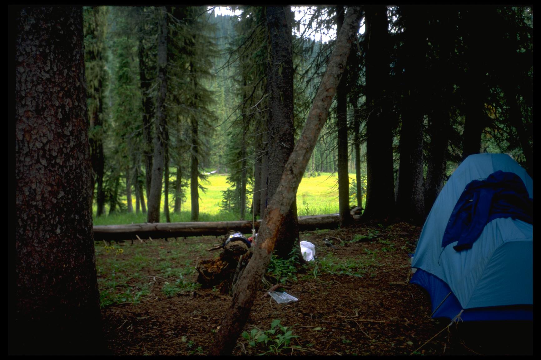 Sierra Designs Clip Flashlight, Weminuche Wilderness, Colorado, ca. 1997