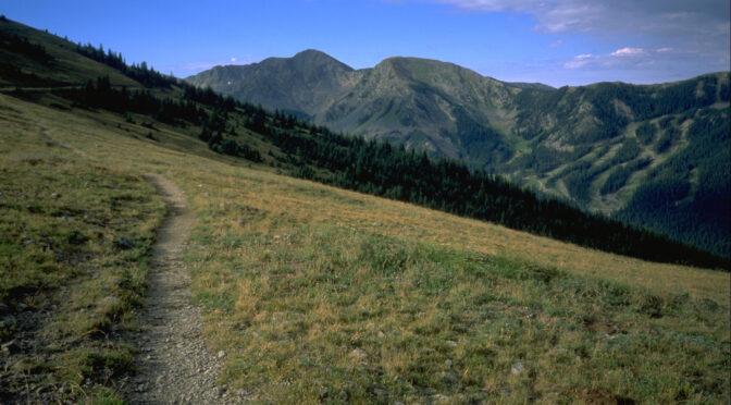 TR-Wheeler Peak-New Mexico Highpoint