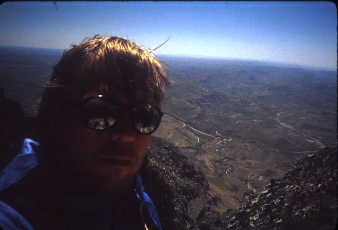 me, approaching summit in '85.